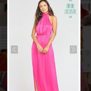 Show Me Your MuMu Collette Collar Gown